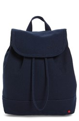 State Bags Park Slope Hattie Canvas Backpack Blue Navy