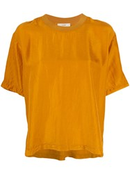 Forte Forte Relaxed Fit T Shirt Yellow