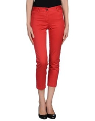 Alberto Biani Casual Pants Red