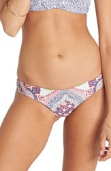 Billabong Women's Luv Lost Hawaii Lo Reversible Bikini Bottoms