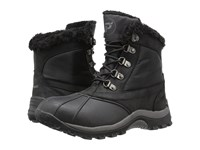 Propet Blizzard Mid Lace Ii Black Nylon Women's Cold Weather Boots