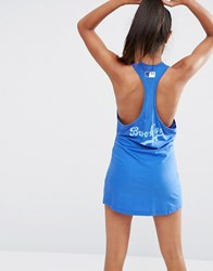 Majestic Brooklyn Racer Back Beach Dress Blue