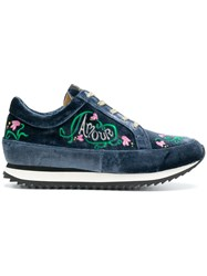 Charlotte Olympia Work It Amour Sneakers Blue