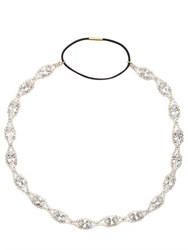 Dolce And Gabbana Swarovski Crystal Elastic Headband