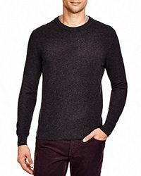 The Men's Store At Bloomingdale's Crewneck Cashmere Sweater Dark Charcoal