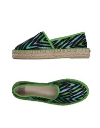 Colors Of California Espadrilles Green