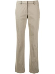 Aspesi Slim Fit Trousers Nude And Neutrals