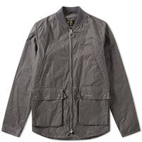 Barbour Camber Wax Jacket Grey