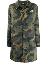 The North Face Camouflage Graphic Coach Jacket 60