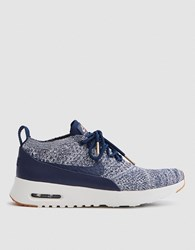 Nike Air Max Thea Ultra Flyknit In College Navy