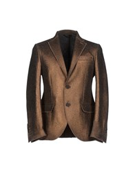 Luchino Suits And Jackets Blazers Men Bronze