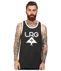 L R G Research Collection Tank Top Black Heather Men's Sleeveless