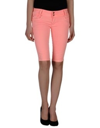 Yes Zee By Essenza Bermudas Salmon Pink