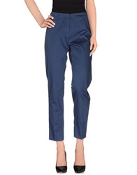 Irma Bignami Trousers Casual Trousers Women Slate Blue