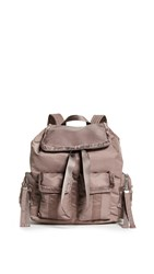Sam Edelman Janelle Large Backpack Taupe