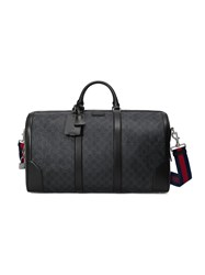 Gucci Soft Gg Supreme Carry On Duffle Black