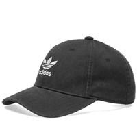 Adidas Washed Trefoil Cap Black