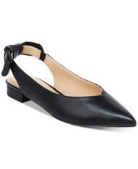 Nanette Lepore By Ariel Slingback Flats Only At Macy's Women's Shoes Black