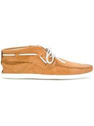 N.D.C. Made By Hand Classic Boat Shoes Brown