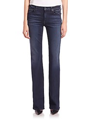 7 For All Mankind Kimmie Slim Illusion Luxe Bootcut Jeans Luxe Rich Blue
