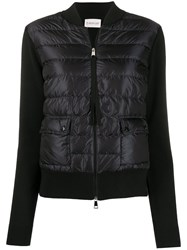 Moncler Quilted Effect Zipped Cardigan 60