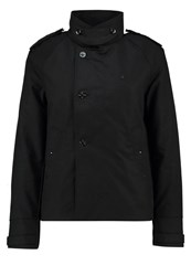 G Star Gstar Florence Cropped Trench Light Jacket Black
