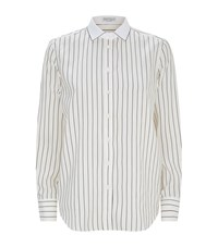 Brunello Cucinelli Embellished Collar Shirt Female Multi