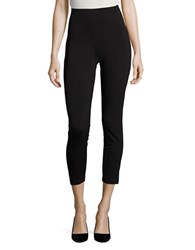 Ivanka Trump Ponte Stretch Leggings Black