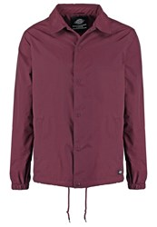 Dickies Torrance Summer Jacket Maroon Dark Red