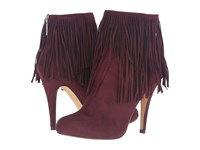 Michael Antonio Melvins Burgundy Suede Women's Dress Boots
