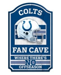 Wincraft Indianapolis Colts Wood Sign