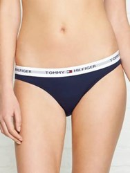 Tommy Hilfiger Cotton Iconic Bikini Navy