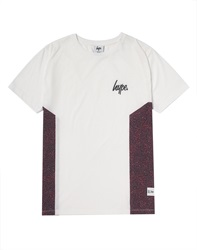 Hype X The Idle Man Sunrise Speckle Side Panel T Shirt