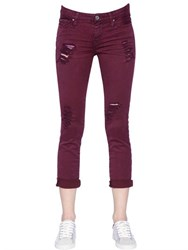 Iro Destroyed Cotton Denim Jeans