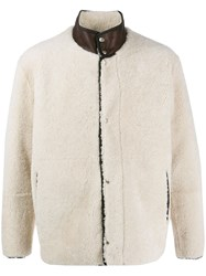 Covert Textured Padded Jacket Neutrals