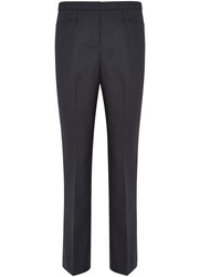 Austin Reed Puppytooth Trousers Navy