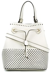 Furla Stacy Bucket Bag Women Calf Leather One Size White