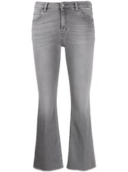 Haikure Cropped Jeans Grey