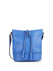 Kensie Textured Faux Leather Hobo Blue