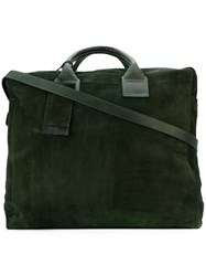 Marsell Travel Bag Women Leather One Size Green