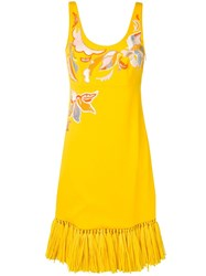 Emilio Pucci Sequinned Dress Yellow