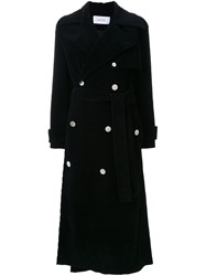 Irene 'Corduroy' Coat Black