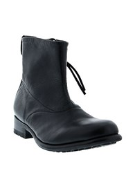 Blackstone Leather Zip Boots