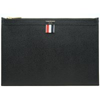 Thom Browne Small Zip Tablet Holder Black