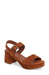 Matisse Women's Coconuts By Charger Platform Sandal Saddle Suede