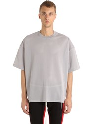 Fear Of God Oversized Techno Jersey And Mesh T Shirt