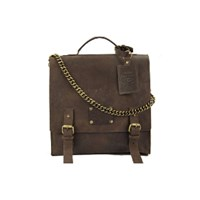 O My Bag Frankie Fierce Eco Indian Brown Bag