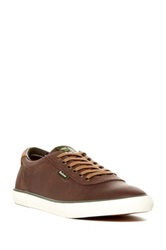 Barbour Valiant Leather Sneaker Brown