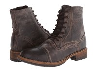 Steve Madden Nashh Brown Distressed Men's Lace Up Boots