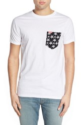 Men's Ames Bros. 'Black Meddle' Pocket T Shirt